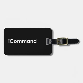 iCommand Marching Band Commander Bag Tag