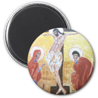 icon 2 Crucifix Magnet