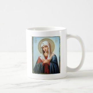 ICON (32)mary mother of good Classic White Coffee Mug