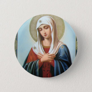 ICON (32)mary mother of good Pinback Button