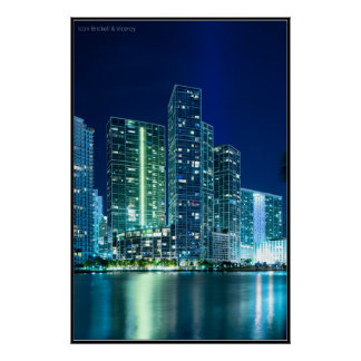 Icon Brickell and Viceroy in Miami Poster