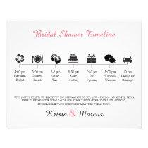 Icon Bridal Shower Program Flyer