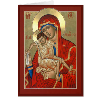 Icon Christmas Card