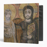 Icon depicting Abbott Mena with Christ Binders