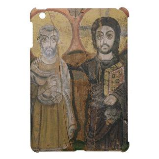 Icon depicting Abbott Mena with Christ iPad Mini Cover