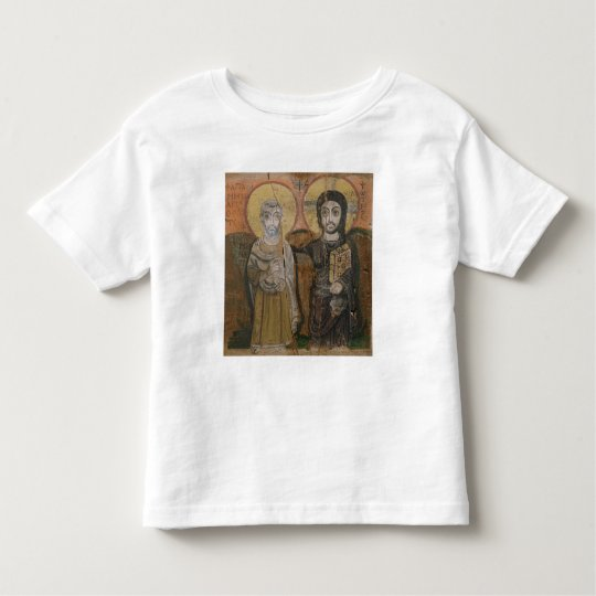 Icon depicting Abbott Mena with Christ Toddler T-shirt