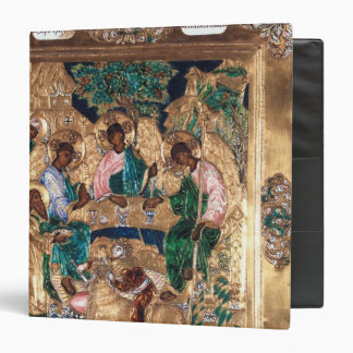 Icon depicting Abraham and the Three Angels Vinyl Binder