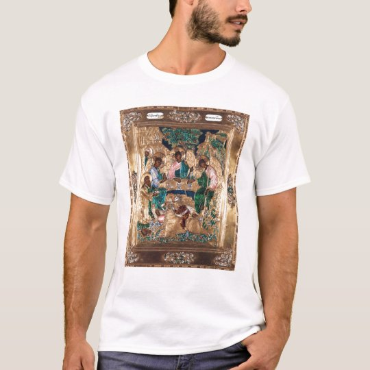 Icon depicting Abraham and the Three Angels T-Shirt