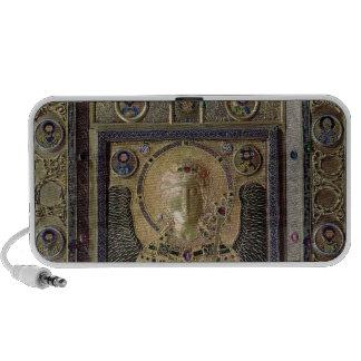 Icon depicting the Archangel Michael Laptop Speakers