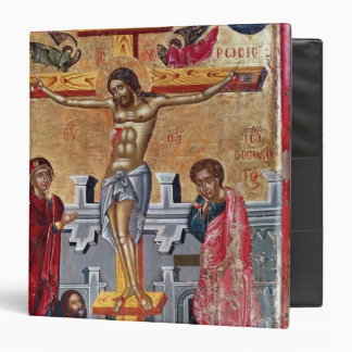 Icon depicting the Crucifixion, 1520 3 Ring Binder