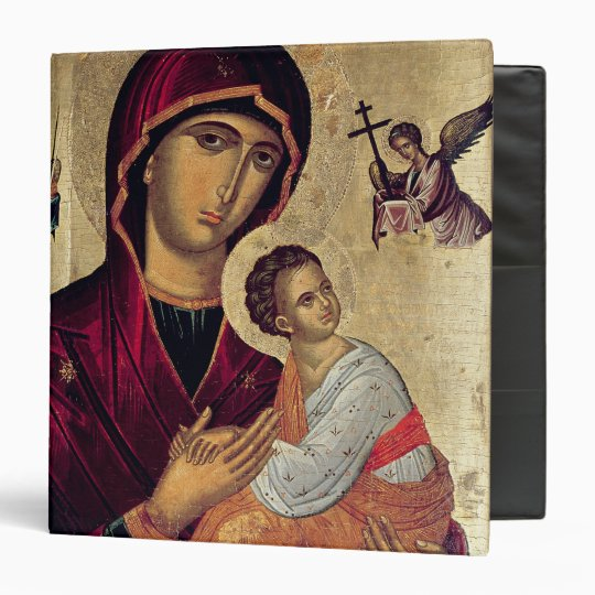 Icon depicting the Holy Mother of the Passion Binder