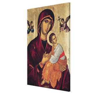 Icon depicting the Holy Mother of the Passion Canvas Print