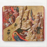 Icon depicting the Nativity Mousepad