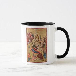 Icon depicting the Nativity Mug
