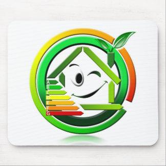 Icon energeting saving mouse pad