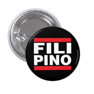 """Icon Filipino 1 1/4"""" button"""