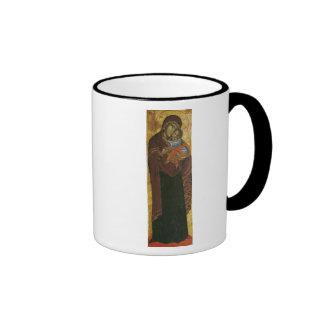 Icon known as the 'Virgin of Tsar Dushan', c.1350 Coffee Mug