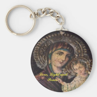 Icon - Love, Light and Peace! Keychain