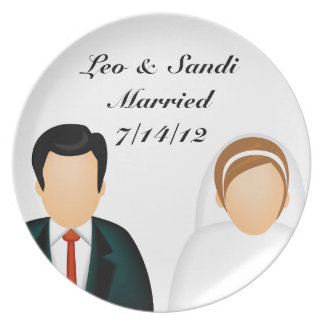 Icon Marriage Dinner Plate