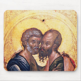 Icon of SS. Peter and Paul Mouse Pad