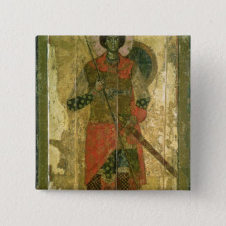 Icon of St. George, 1130-50 Button
