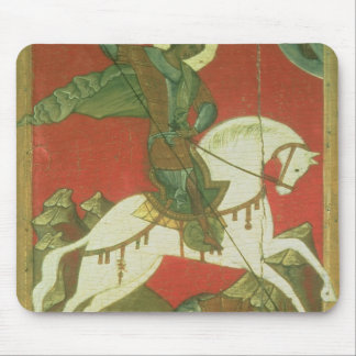 Icon of St. George and the Dragon Mouse Pad