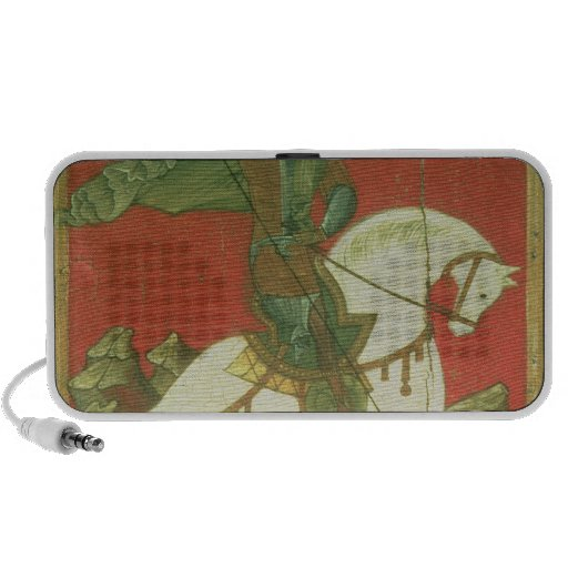 Icon of St. George and the Dragon Travelling Speakers