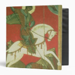 Icon of St. George and the Dragon Vinyl Binder