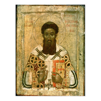 Icon of St. Gregory  Archbishop of Thessaloniki Postcard