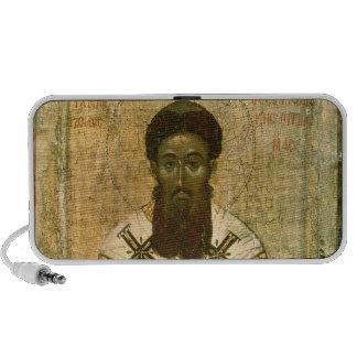 Icon of St. Gregory  Archbishop of Thessaloniki Laptop Speaker