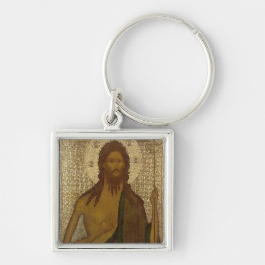 Icon of St. John the Forerunner Keychain