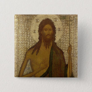 Icon of St. John the Forerunner Pinback Button