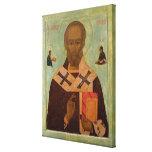 Icon of St. Nicholas Canvas Prints