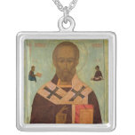 Icon of St. Nicholas Custom Necklace