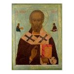 Icon of St. Nicholas Postcard