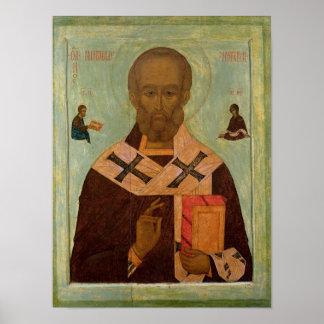 Icon of St. Nicholas Poster