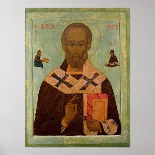 Icon of St. Nicholas Print