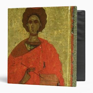 Icon of St. Pantaleon of Nicomedia Binder