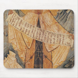 Icon of St. Sabas of Jerusalem, 1572 Mouse Pad
