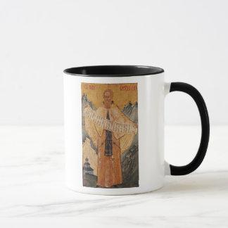 Icon of St. Sabas of Jerusalem, 1572 Mug