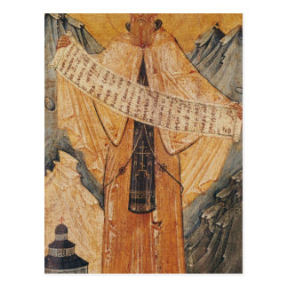Icon of St. Sabas of Jerusalem, 1572 Postcard