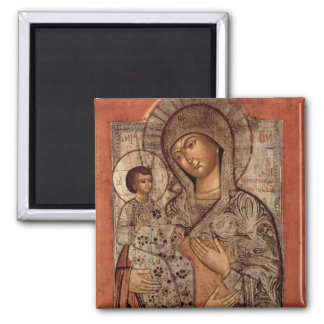 Icon of the Blessed Virgin with Three Hands Magnet