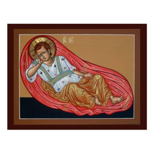 Icon of the Unsleeping Eye Prayer Card