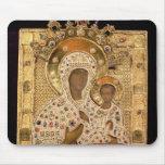 Icon of the Virgin, Smolenskaja monastery Mouse Pad