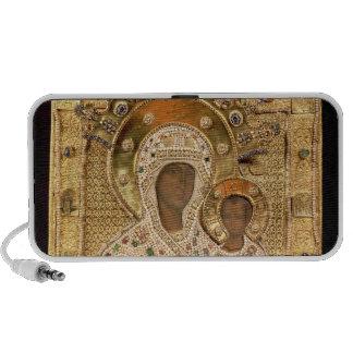 Icon of the Virgin, Smolenskaja monastery Portable Speaker