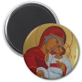 Icon of Theotokos with Child Magnet