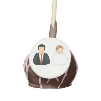 Icon Wedding Cake Pops