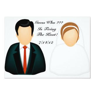 Icon Wedding Card