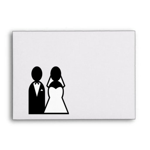 Icon Wedding Couple Envelopes