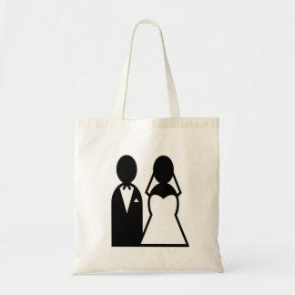 Icon Wedding Couple Tote Bag